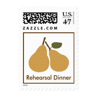 The Perfect Pair Rehearsal Dinner Wedding Postage