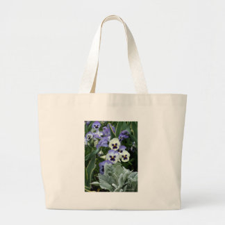 The Perfect Pansy Tote Bags
