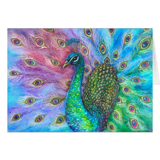The Perfect Peacock. Cards