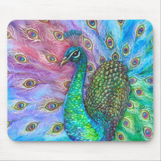 The Perfect Peacock. Mouse Pad