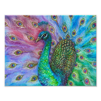 The Perfect Peacock. Poster