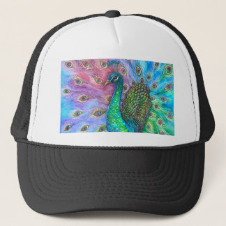 The Perfect Peacock. Trucker Hat