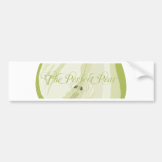 The Perfect Pear Bumper Sticker