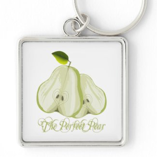 The Perfect Pear keychain