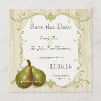 The Perfect Pear Save the Date