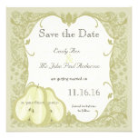The Perfect Pear Save the Date Invitations