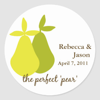 The Perfect Pear Sticker