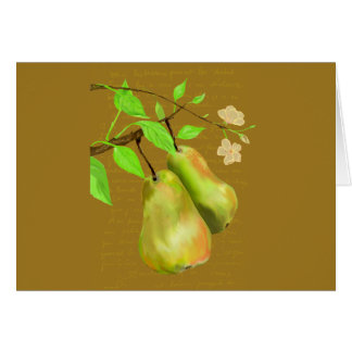 The Perfect Pear Thank You Card