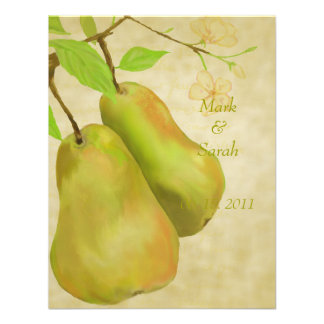 The Perfect Pear Vintage II RSVP Invite