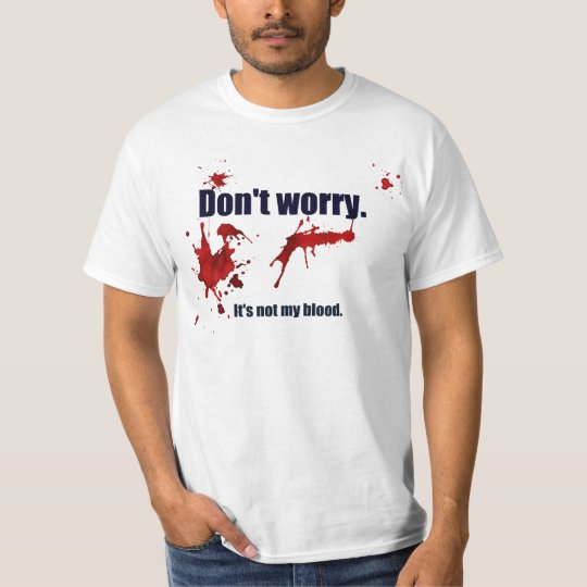 The perfect shirt for the zombie apocalypse