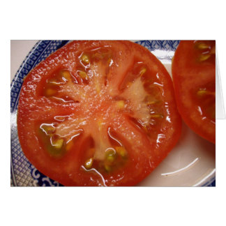 The Perfect Slice Tomato Card