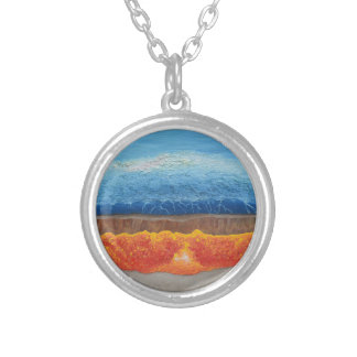 The Perfect Storm Silver Plated Necklace