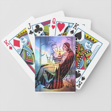 THE PERFECT SUMMER SUNSET BICYCLE PLAYING CARDS