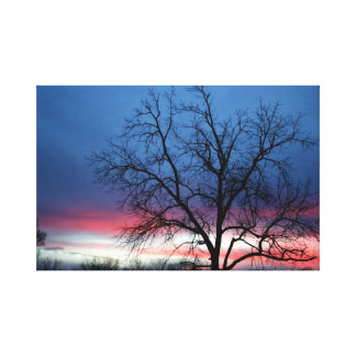 The Perfect Sunset Canvas Print