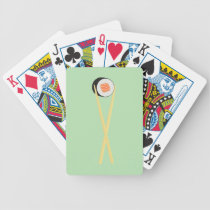 The Perfect Sushi Bicycle Playing Cards