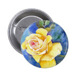 The Perfect Yellow Rose Pins