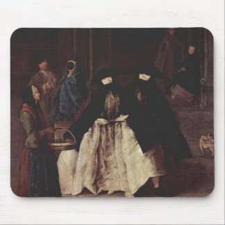 The Perfume Seller by Pietro Longhi Mouse Pad