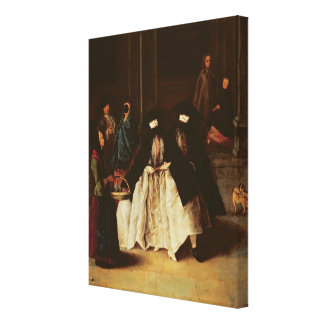 The Perfume Seller (oil on canvas) (see alo 166068 Canvas Print