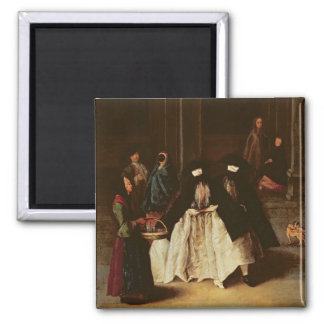 The Perfume Seller (oil on canvas) (see alo 166068 Magnet