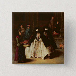 The Perfume Seller (oil on canvas) (see alo 166068 Pinback Button