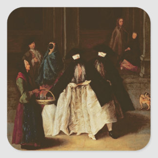 The Perfume Seller (oil on canvas) (see alo 166068 Sticker