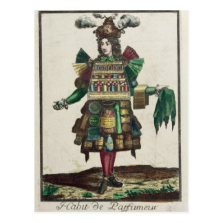 The Perfumer's Costume Postcard
