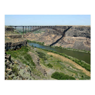 The Perrine Bridge - Twin Falls, Idaho Postcard