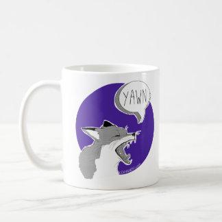 The perro raposero *Yawn* - Mug purple Taza