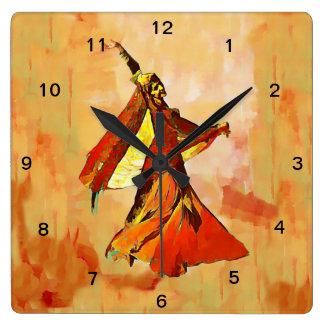 The persian Dancer wall Clock