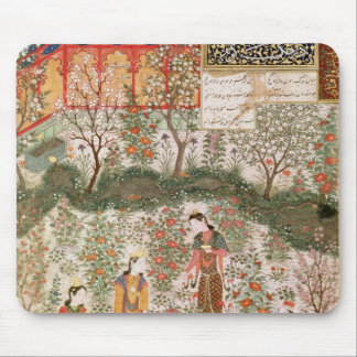 The Persian Prince Humay Meeting the Chinese Mouse Pad