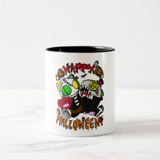 The person 喰 it is, with instant shooting hallowee Two-Tone coffee mug