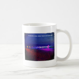 The person is free, while trusts in the de coffee mug