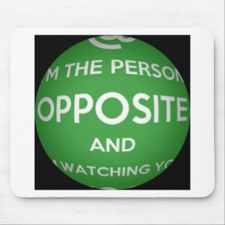 The Person Opposite Mouse Pad