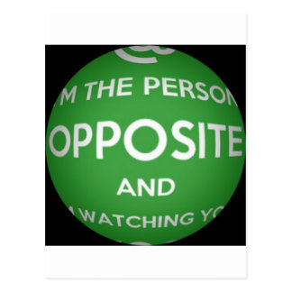 The Person Opposite Postcard