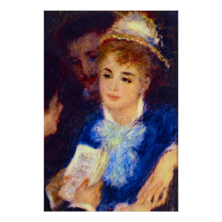 The Perusal of the Part by Pierre Renoir Print