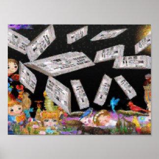 the pet city gazette mosaic poster