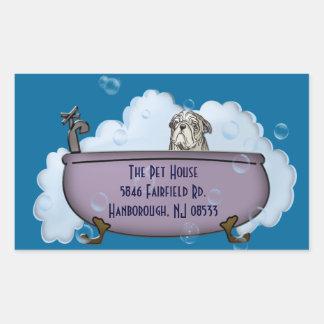 The Pet House Rectangular Sticker