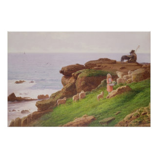 The Pet Lamb Poster