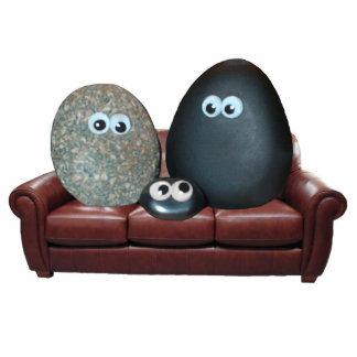 The Pet Rock Family 2 Magnet
