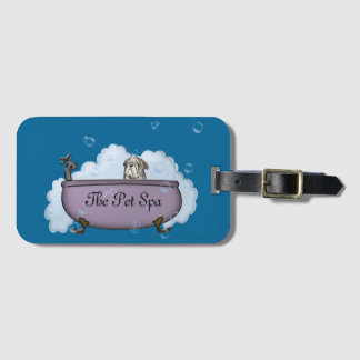 The Pet Spa - gifts for dog lovers Bag Tag