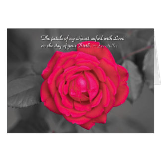 The Petals Of My Heart Unfurl... Greeting Card