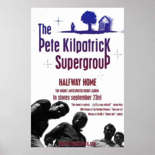 The Pete Kilpatrick Supergroup Poster