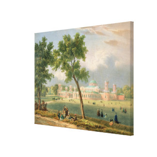 The Peter the Great Palace in Moscow Canvas Print