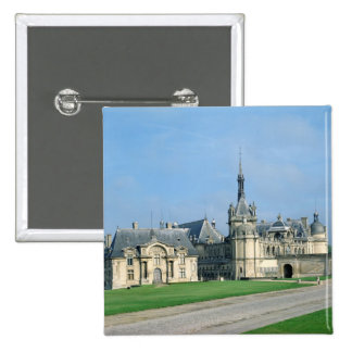 The Petit Chateau 2 Inch Square Button