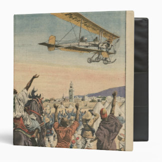 The 'Petit Journal' airplane flying over 3 Ring Binder