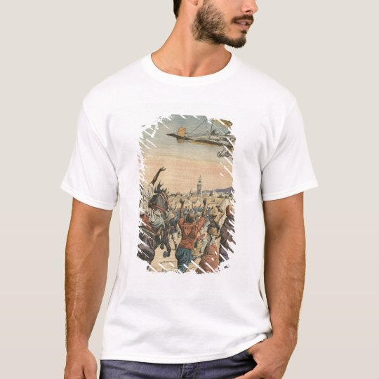 The 'Petit Journal' airplane flying over T-Shirt