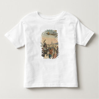 The 'Petit Journal' airplane flying over Toddler T-shirt