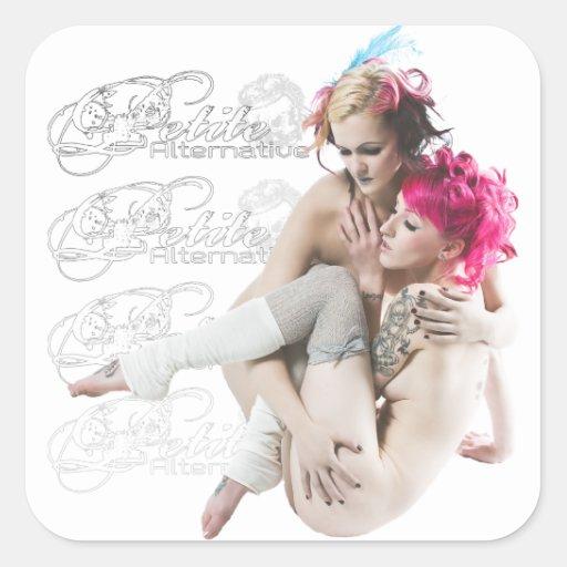 The Petite Alternative Girls Sticker