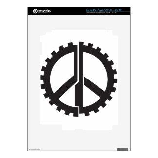 The PG Peace Gear iPad 3 Decal