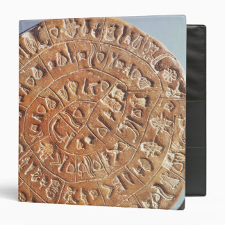 The Phaistos Disc, with unknown significance Binder
